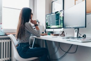 Adjusting Your At Home Work-Station to Minimize Pain
